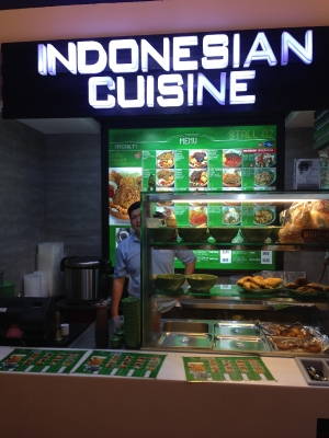 Indonesian Cuisine in Novena MRT Station