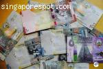 Counterfeit Kuwaiti Dinar Banknote @ +4915210488432